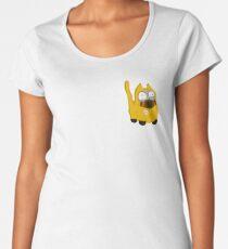 Hazmat Cat Women's Premium T-Shirt