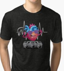 Heart Beat Tri-blend T-Shirt