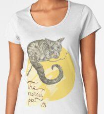 Common Brushtail Possum – The Cutest Pest Women's Premium T-Shirt
