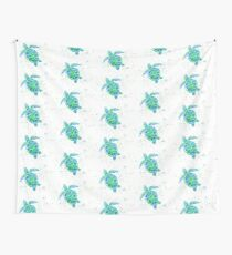Sea Turtle by Jan Marvin Wall Tapestry