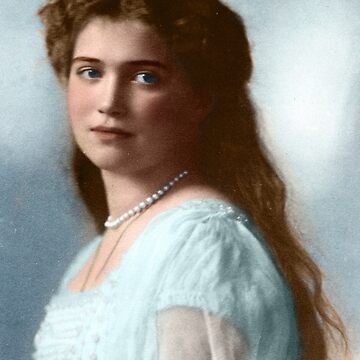 Maria Romanov  - 1914 Formal (Colorized) by Laurynsworld