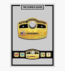 The Domed Globe Belt - Spotlight Poster Photographic Print