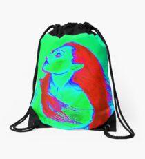Vampire Princess 6 Green Envy  Drawstring Bag
