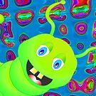 Happy Caterpillar by Orla Cahill
