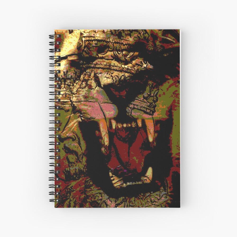 Jah Rasta Lion Power Spiral Notebook