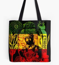 Rasta Haile Selassie Natural Mystic Lion of Judah Tote Bag
