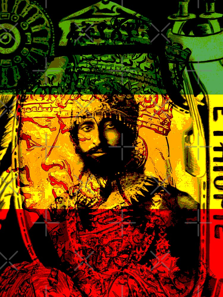 Rasta Haile Selassie Natural Mystic Lion of Judah by rastaseed