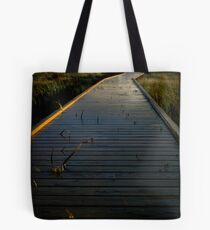 A peaceful walk Tote Bag