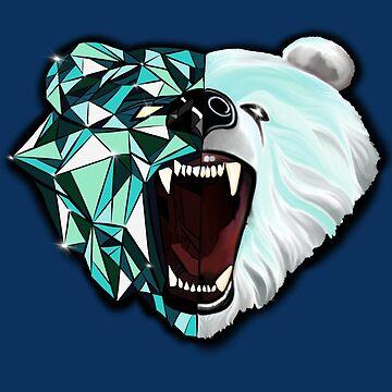 Polar Bear by SeleneofArt