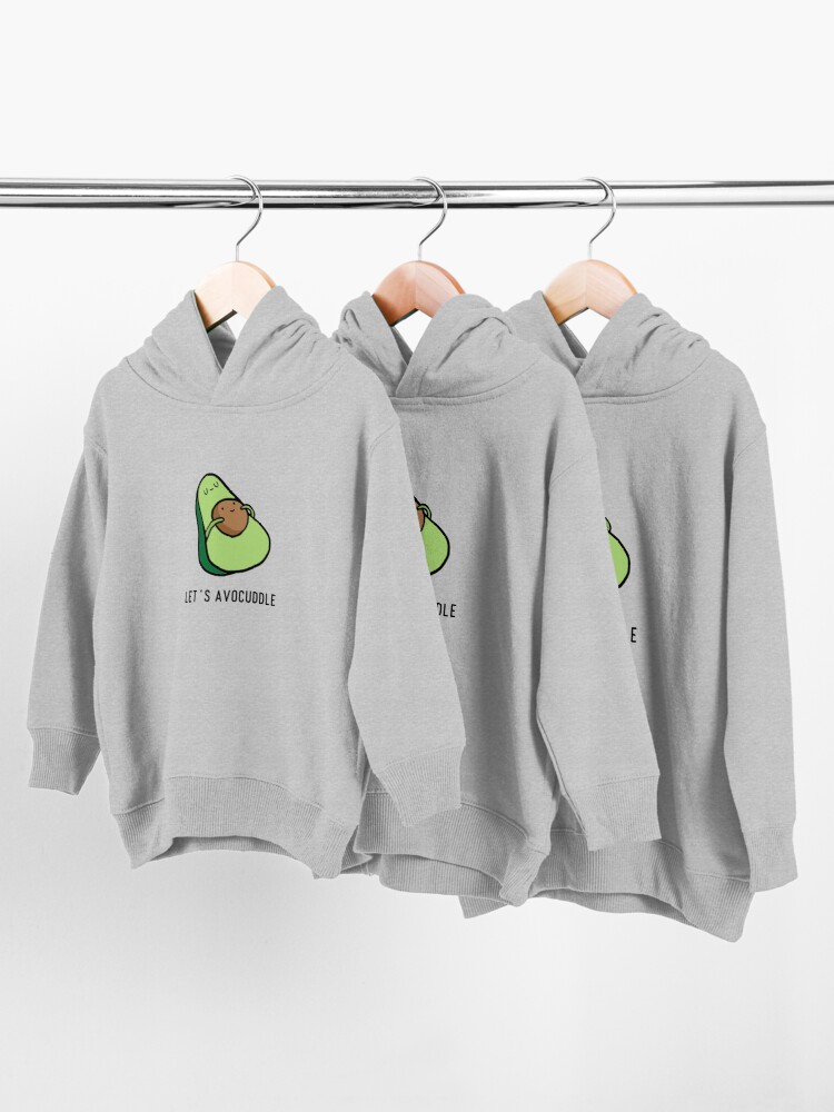 Alternate view of Let's Avocuddle Toddler Pullover Hoodie