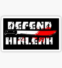 DEFEND HIALEAH! Sticker