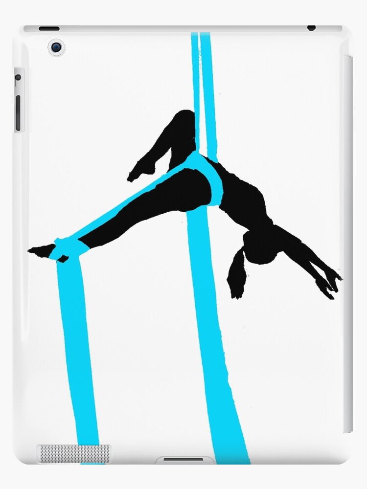 Blue Aerial Silks Layback Ipad Cases Skins By Alenalove Redbubble
