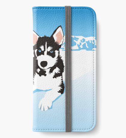 husky iPhone Wallet