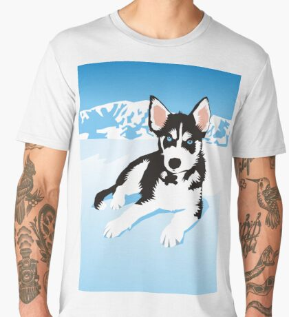husky Men's Premium T-Shirt