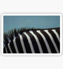 Deborah the Zebra Sticker