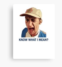 Jim Varney Tribute Canvas Print