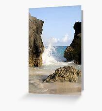 the coast Greeting Card