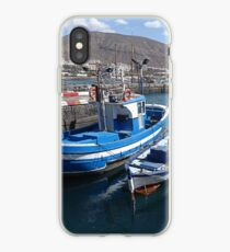 Fishing boats. iPhone Case