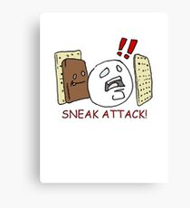 Sneak Attack! Canvas Print