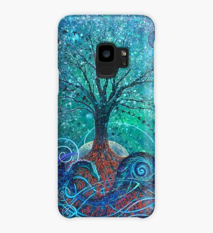 Tree of Life, Dark Moon. Case/Skin for Samsung Galaxy