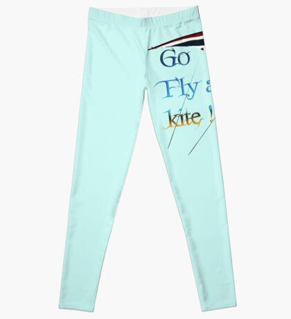Go fly a kite! Leggings