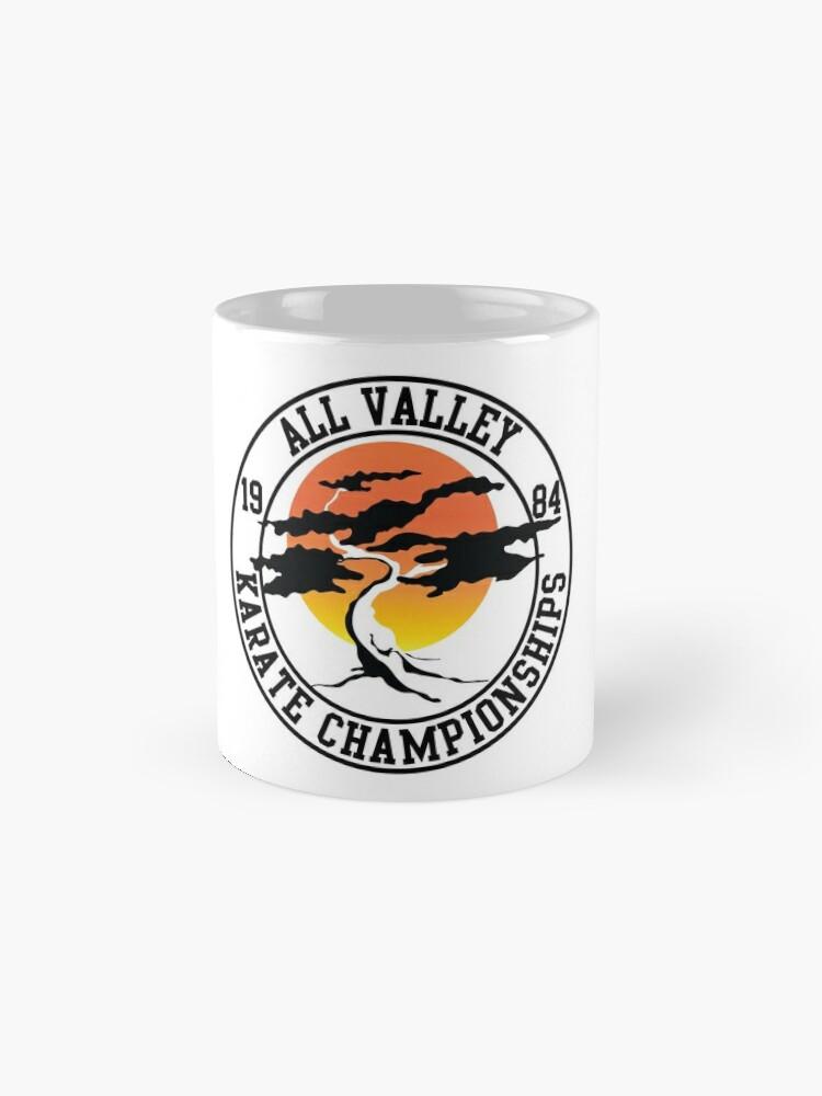Alternative Ansicht von Die Karate Kid - All Valley 1984 Karate Meisterschaften Tassen