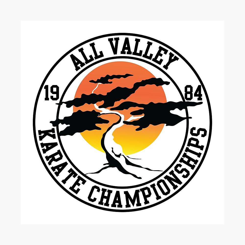 Die Karate Kid - All Valley 1984 Karate Meisterschaften Fotodruck