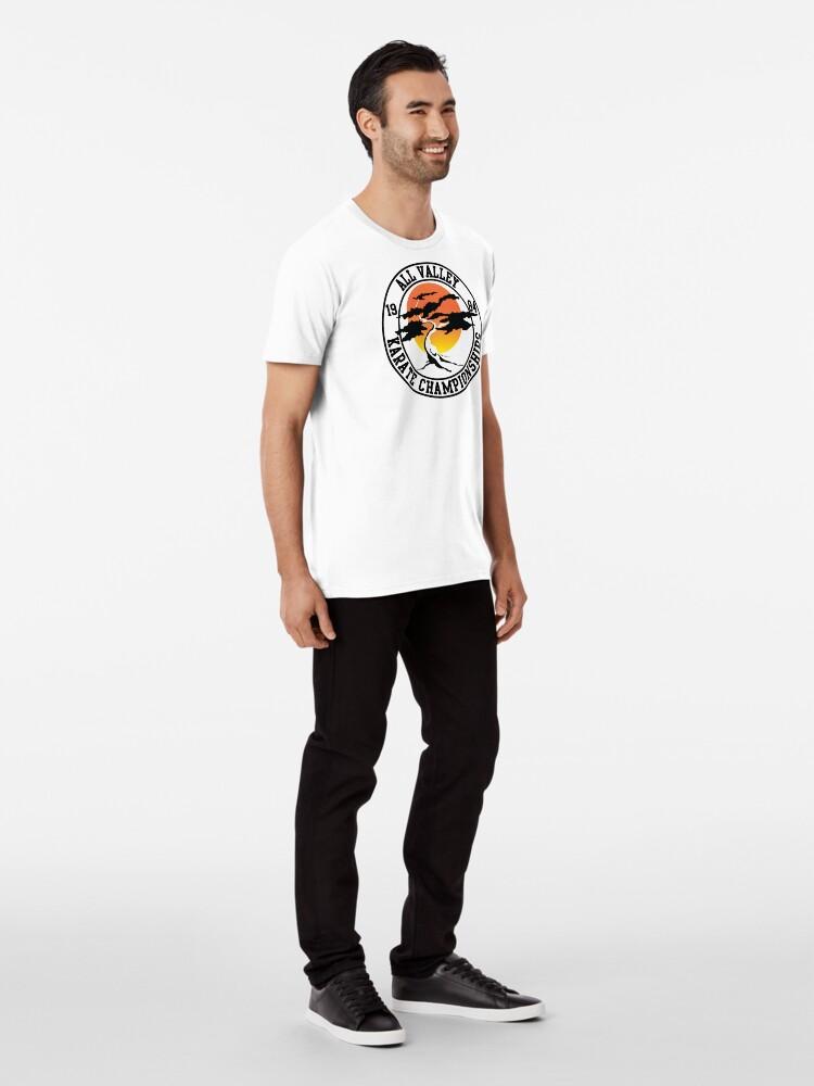 Alternative Ansicht von Die Karate Kid - All Valley 1984 Karate Meisterschaften Premium T-Shirt