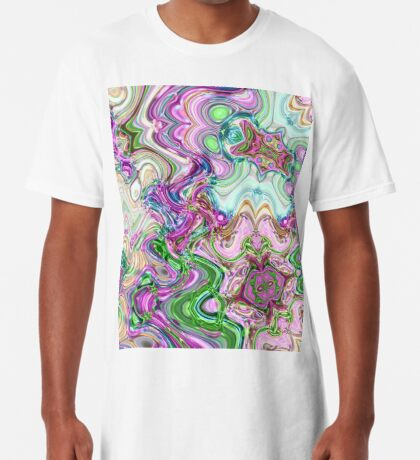 Transcendental Abstracts Long T-Shirt