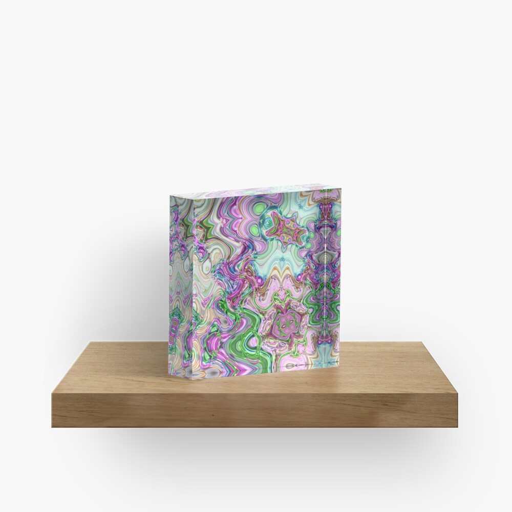 Transcendental Abstracts Acrylic Block