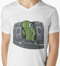 DJ Men's V-Neck T-Shirt