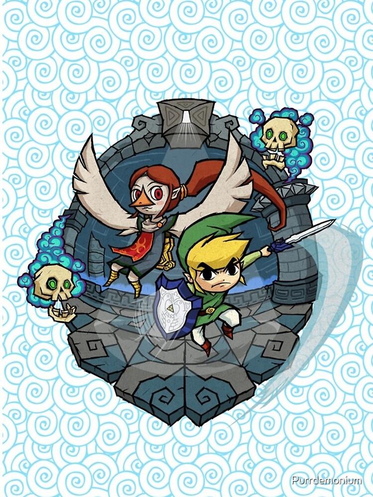Zelda Wind Waker Erdtempel von Purrdemonium