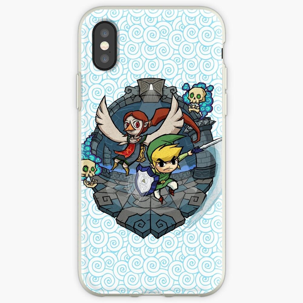 Zelda Wind Waker Erdtempel iPhone-Hüllen & Cover