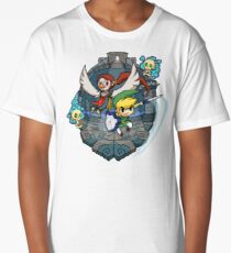 Zelda Wind Waker Earth Temple Long T-Shirt