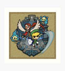 Zelda Wind Waker Earth Temple Art Print