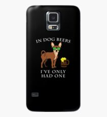 Chihuahua I've Only Had One In Dog Beers Year of the Dog Irish St Patrick Day Case/Skin for Samsung Galaxy