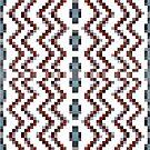 Illusion background, Structure, composition, design, drawing, illustration,  tapis, garment by znamenski
