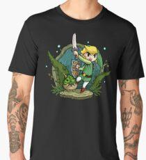 Zelda Wind Waker Forbidden Woods Temple Men's Premium T-Shirt