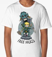 Zelda Wind Waker FREE HUGS  Long T-Shirt