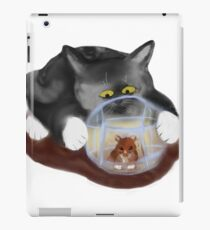 Hamster Ball and Curious Kitten iPad Case/Skin
