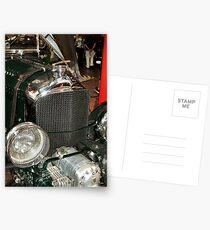 Bentley's supercharger Postcards