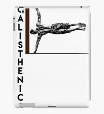 Calisthenics Flag Design T-shirt iPad Case/Skin
