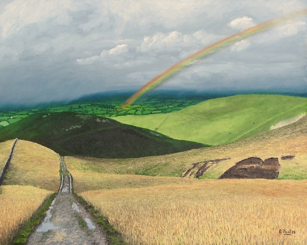 A Gauntlet Of Showers, Vale Of Eden by Richard Paul