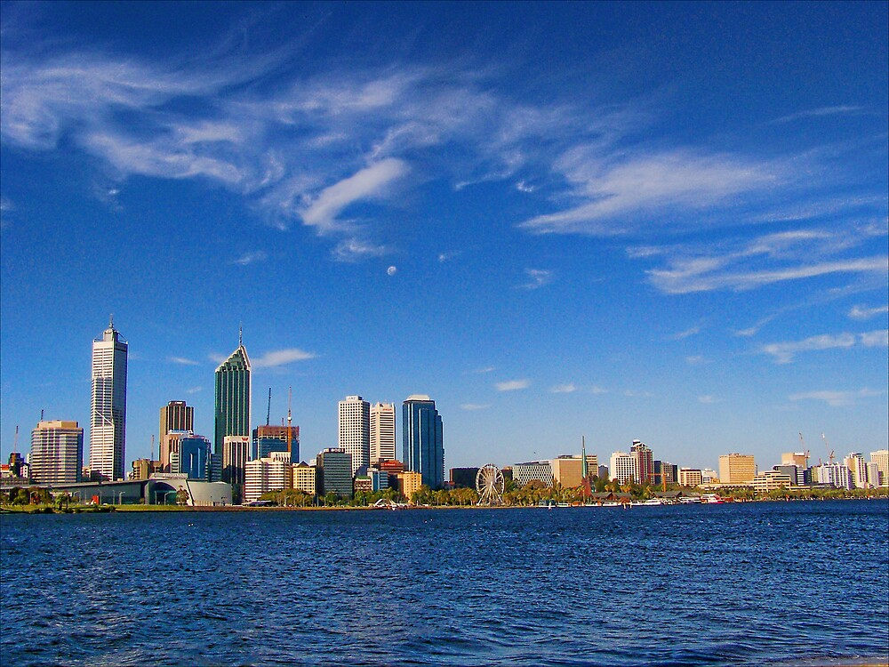 Perth City - Cityscape 2009 by Daniel Rayfield