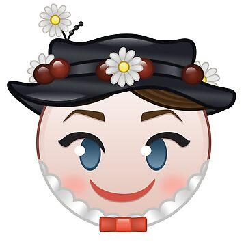 Mary Poppins Emoji by dfordylan