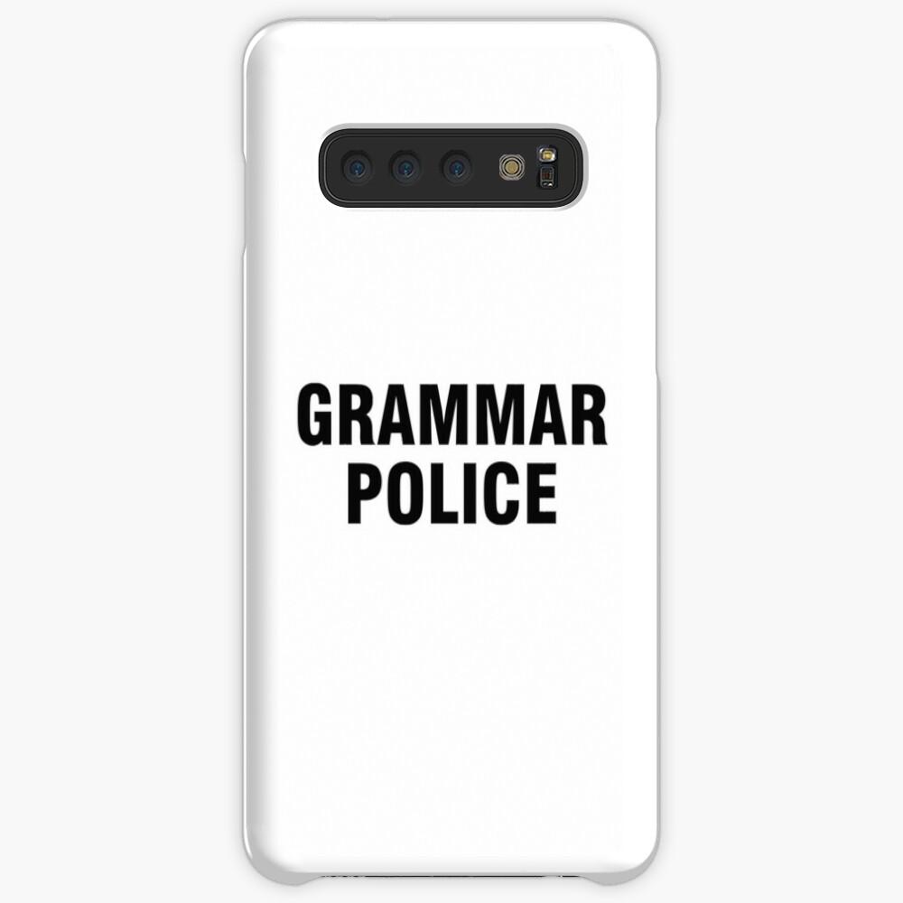 La policía gramática Funda y vinilo para Samsung Galaxy