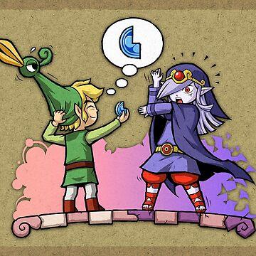 Zelda Vaati y Link de Purrdemonium