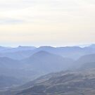 Blue Montains French Alps by CerridwenDessin