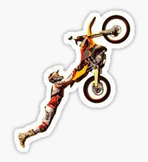 Motocross Dirt Bike Riders Freestyle Sticker
