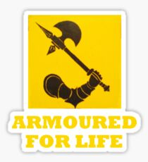 The might of Armour Sticker
